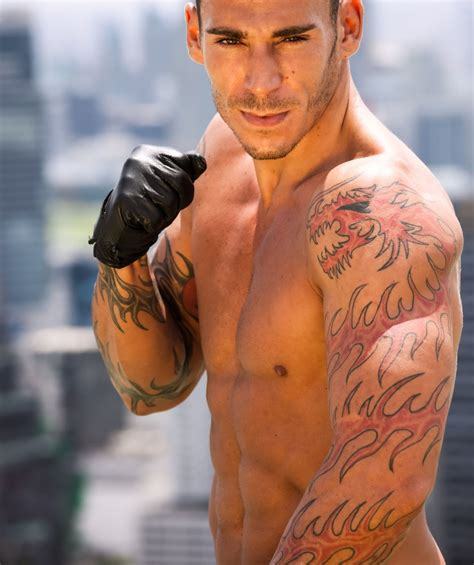 tattoos for muscular men spots for