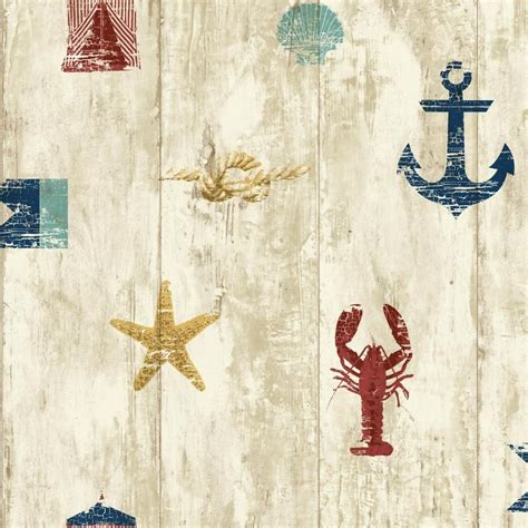 nautical wallpapers york wallcoverings nautical living weathered seashore