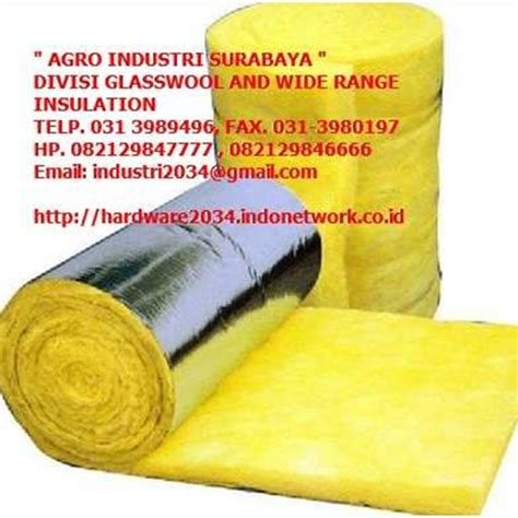 Jual Rockwool Dan Glasswool jual jual glasswool rockwool insulation aluminium foil