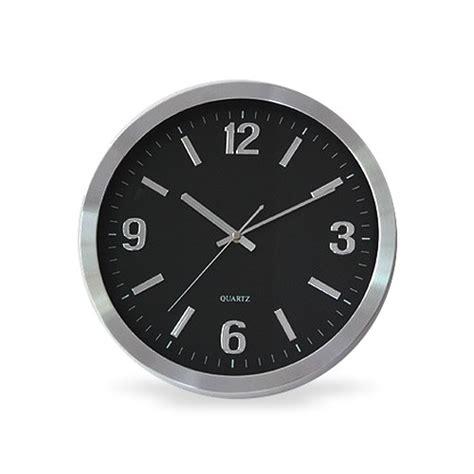 horloge murale grande taille secutec fr horloge murale design grande taille 233 ra ip wifi d 233 tection de mouvement 32go de