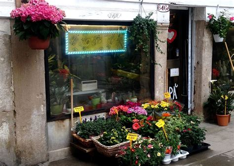 Florist In by Florists Flower Shops Og Venice Italy Travel Guide
