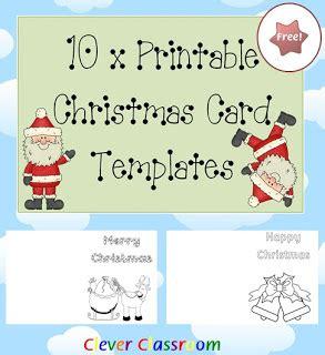 printable christmas cards for a teacher all free teacher resources