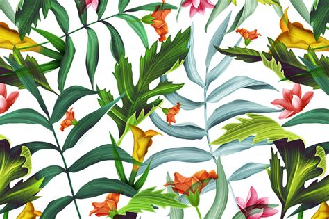tropical pattern background tumblr tropical wallpaper pattern