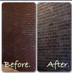 before and after lowes brick panel painted white brick backsplash faux brick shop house faux brick wall brick paneling from lowes covered with