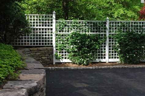 White Trellis Fence gates and fencing great falls va photo gallery