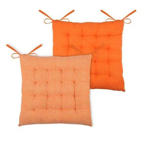 sedia arancione cuscino per sedia ikati arancione cuscino e