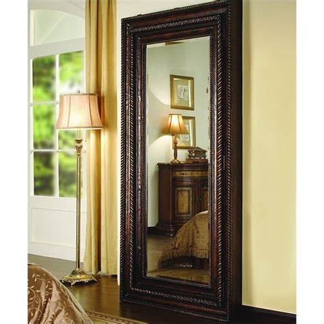 hooker furniture seven seas floor mirror with hidden