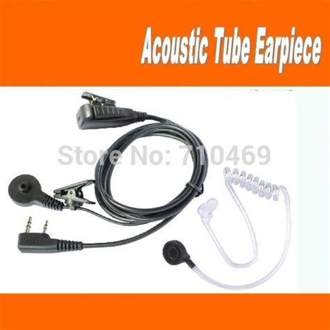 Headset H K By Mj Shop buy throat microphone acoustic ptt earpiece earphone