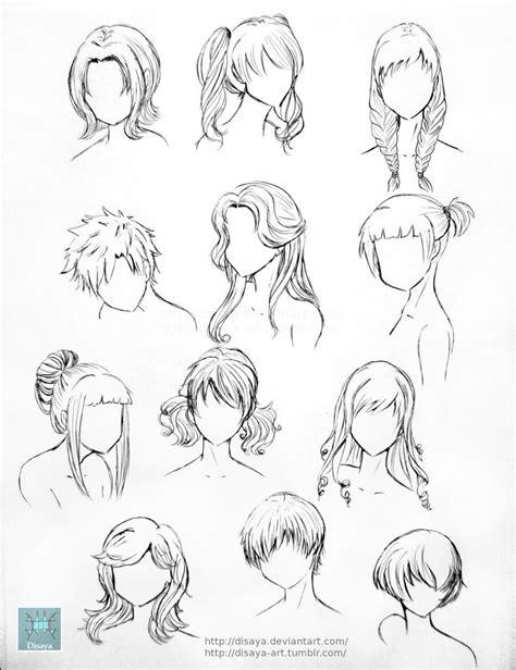 Best 25+ Anime hairstyles ideas on Pinterest   Manga hair, Anime hair drawing and Anime hair