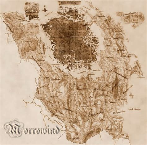 morrowind map morrowind map jpg 1024 215 1013 pc and