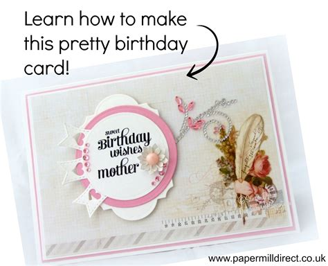 How To Make A Birthday Card Out Of Construction Paper - make a birthday card quot sweet birthday wishes