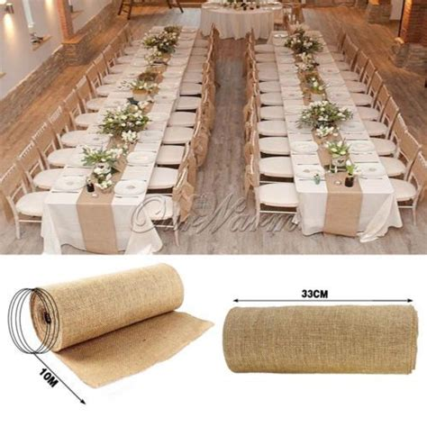 burlap decor 25 best ideas about burlap table runners on