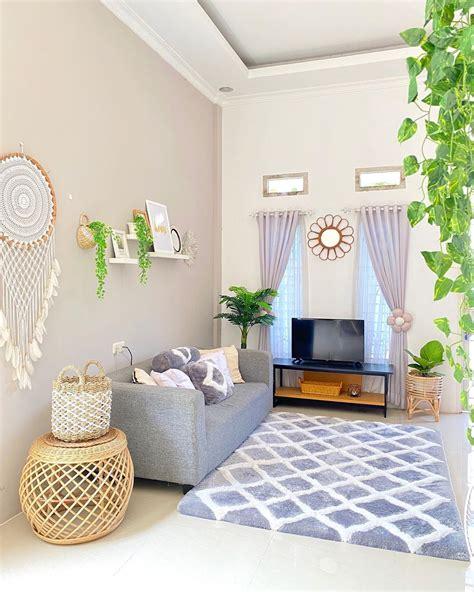 contoh warna cat tembok ruang tamu  bagus