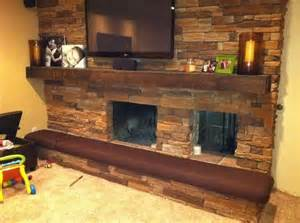 Made To Order Bench Cushions Hand Made Man Cave Fireplace Hearth Cushion By Hearth And