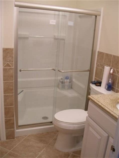 replacing bathtub with shower enclosure 1000 ideas about shower stall kits on pinterest