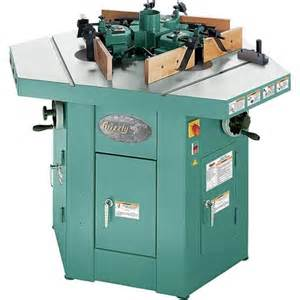 Shaper three spindle shaper grizzly industrial