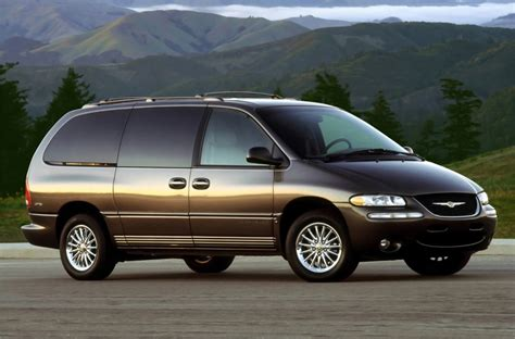 Chrysler Town And Country 1998 by Curbside Classic 1998 Chrysler Town Country Sx