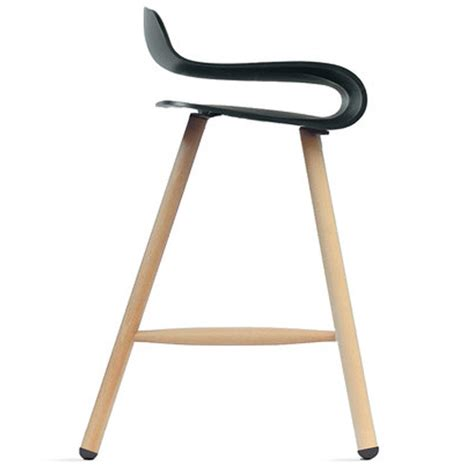 Wooden High Stool Bcn High Stool Wood Legs Made And Make