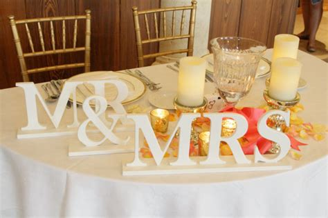 mr and mrs table decoration top table seating arrangements