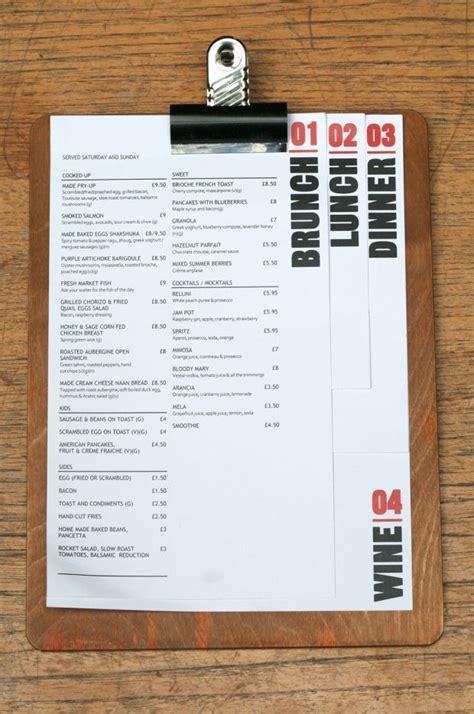 menu design options 25 gorgeous menu design ideas on pinterest menu layout