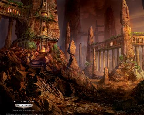 wallpaper   week keldon megaliths magic  gathering