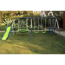 playground set for backyard swing set playground metal swingset backyard playset