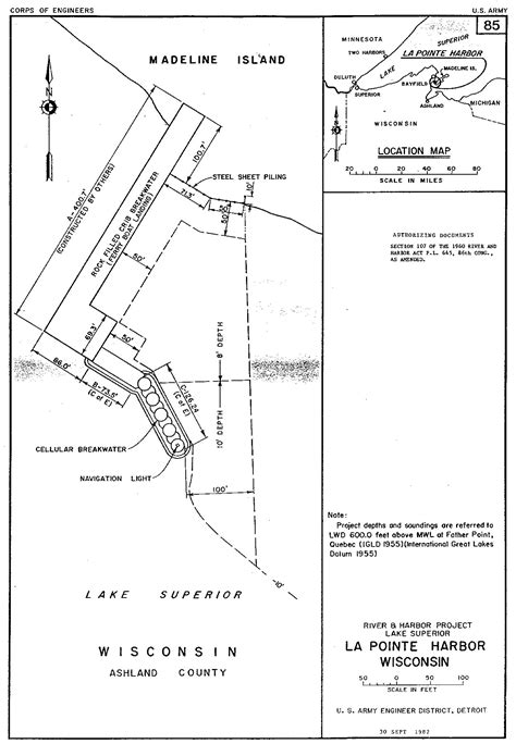Section 408 Permit by Detroit District Gt Missions Gt Operations Gt La Pointe