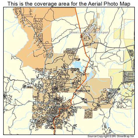 map of arizona prescott aerial photography map of prescott az arizona