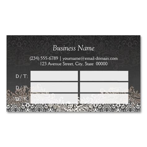 template sided appointment cards 2211 best appointment business card templates images on
