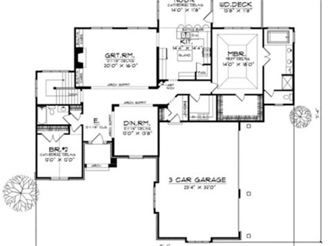 Luxury Bungalow House Plans by 1930s Bungalow Style Single Story Single Story Bungalow
