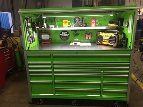 "Tool Vault 72"" Elite 17 Drawer Tool Cabinet with Hutch"