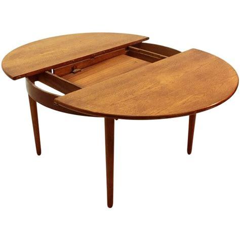 Century Furniture Dining Table Italian Mid Century Teak Dining Table 1960s At 1stdibs