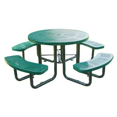 commercial outdoor 46 quot perforated table select your