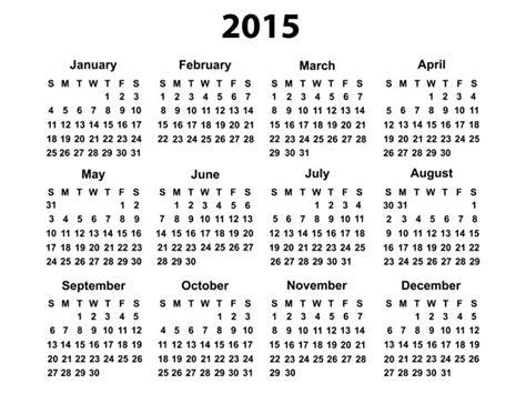 printable calendar first quarter 2015 2015 calendar overview of features