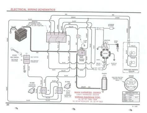 kohler engine wiring diagram fuse box and wiring diagram