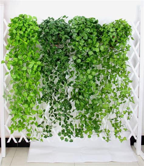 Japanese House Plants by 2 Bundle Artificial Ivy Leaf Garland Hanging Plants Vine