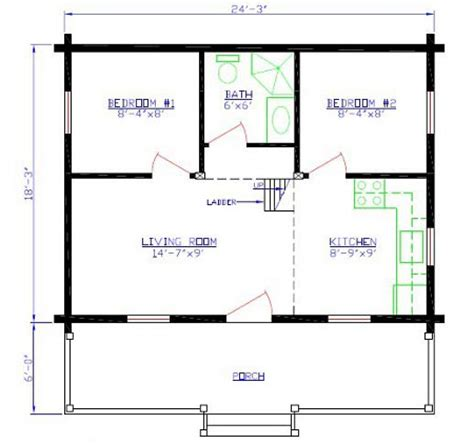 cabin layout mountain series cabin floorplans 1 and 2