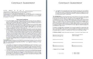 Contract Agreement Templates by Contractor Agreement Template Free Agreement And