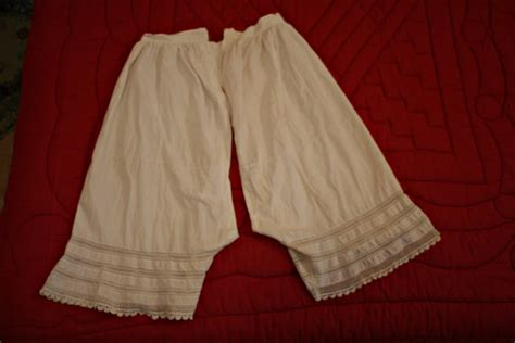 Knickers Drawers by Genuine Late 1800s Vintage Knickers Drawers Bloomers