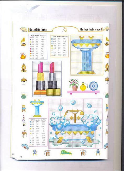 punto croce bagno piccoli accessori bagno punto croce 4 magiedifilo it