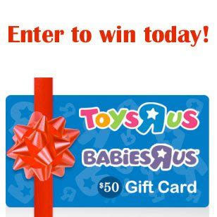 Toys R Us Email Gift Card - baby s first christmas 50 babies toys r us gift card giveaway ends 12 21