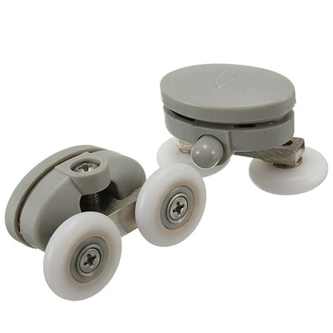 Shower Door Wheel 2pcs Shower Door Wheel Glass Door Bottom Rollers Runners Pulleys Wheels Alex Nld