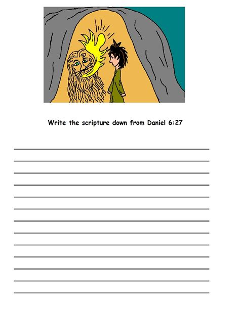 printable version 92 printable coloring pages daniel and the lions den