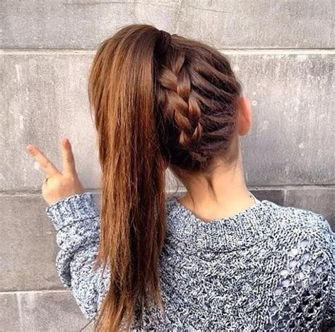 how to underbraid the underbraid ponytail ideas para el cabello