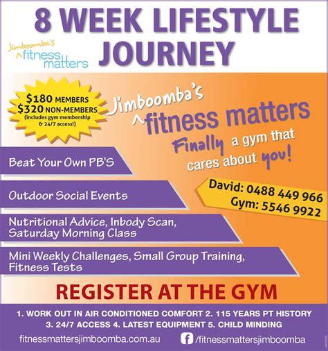 Mba 8 Week Classes by 8 Week Lifestyle Journey Fitness Matters Jimboomba