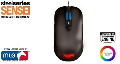 Fit Bag Mlg Edition Tas Gaming steelseries and major league gaming introduce the steelseries sensei mlg edition gaming mouse