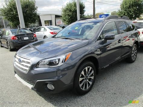 grey subaru outback 2017 carbide gray metallic subaru outback 2 5i limited