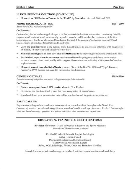 sle of reference in resume brilliant ideas of sales executive resume format in