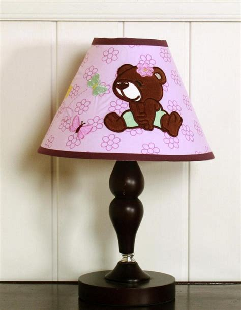 Baby L Shade by Geenny Teddy L Shade Baby Nursery Decor Nursery Lighting