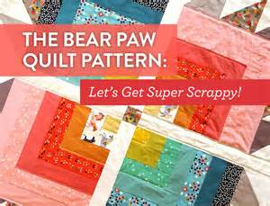 the paw quilt pattern let s get scrappy suzy